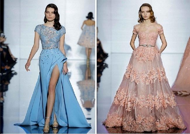 Haute Couture  коллекция платьев весна — лето 2015: Zuhair Murad