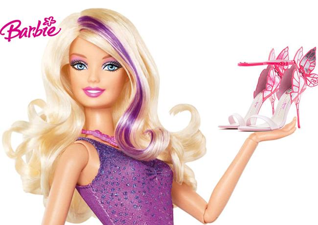 Вдохновленная Barbie: Коллекция обуви Софии Вебстер