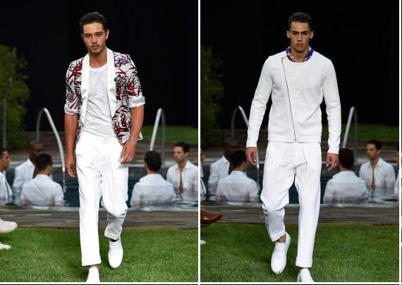 Неделя моды в Милане Весна – Лето 2016: Dirk Bikkembergs