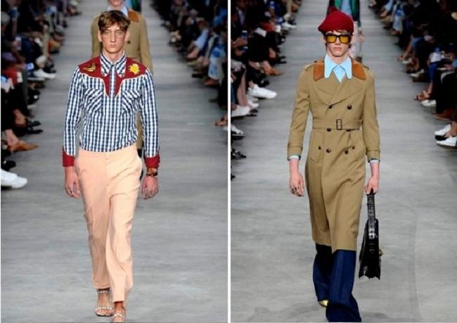 Неделя моды в Милане Весна — Лето 2016: Gucci
