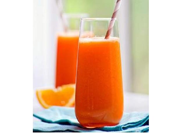 Здоровое питание: Морковно – апельсиновый сок