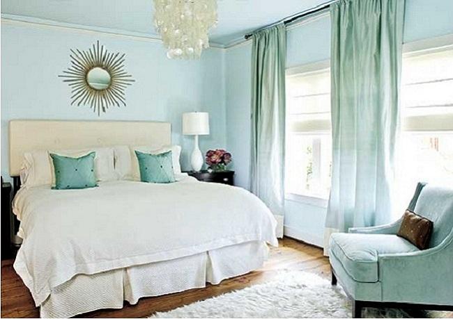 Замечательные цвета для спальни: 12 идей
