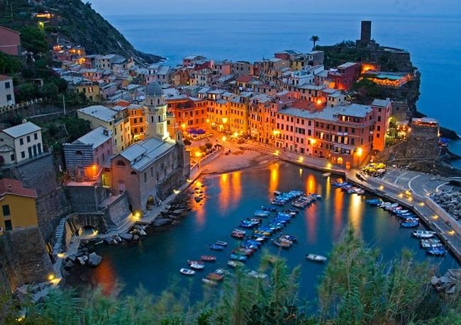 Достопримечательности Италии: Cinque Terre или Пять земель