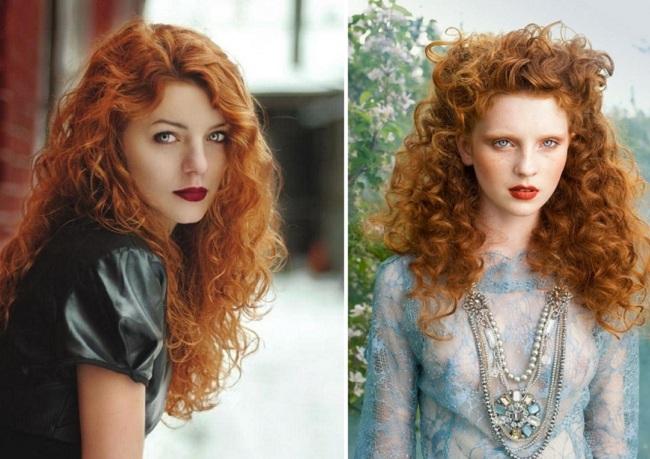 Завораживающие фото обладательниц рыжего цвета волос