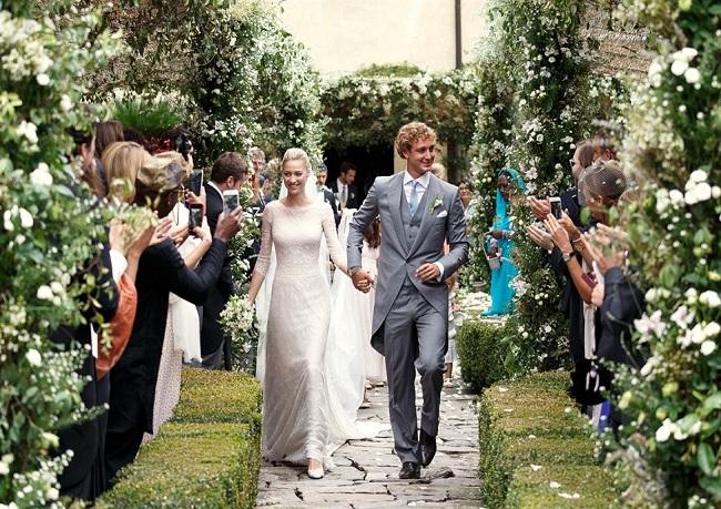 Свадьба аристократов: Беатриче Борромео и Пьер Казираги