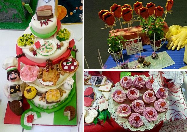 Невероятный дизайн тортов и пирожных на фестивале выпечки в Милане