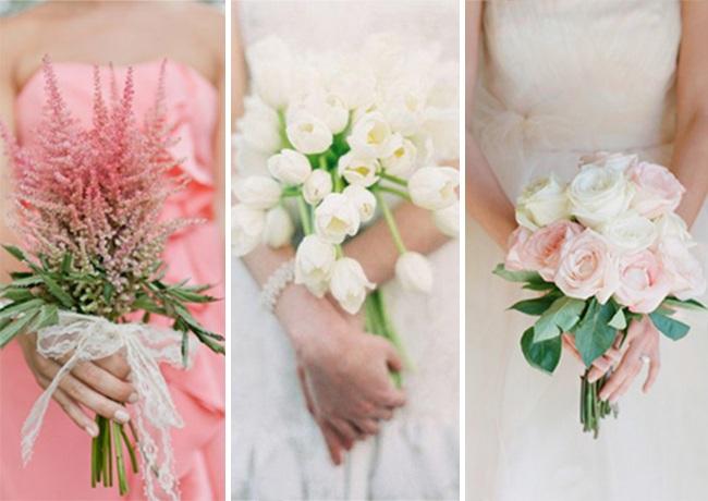 Необычные свадебные букеты, как доминанта образа невесты
