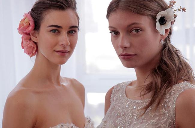 Лучшие свадебные прически и макияж весна 2017