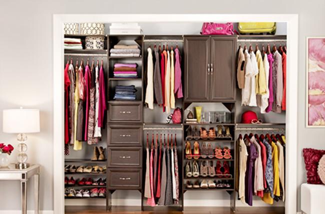 Как правильно организовать пространство в шкафу