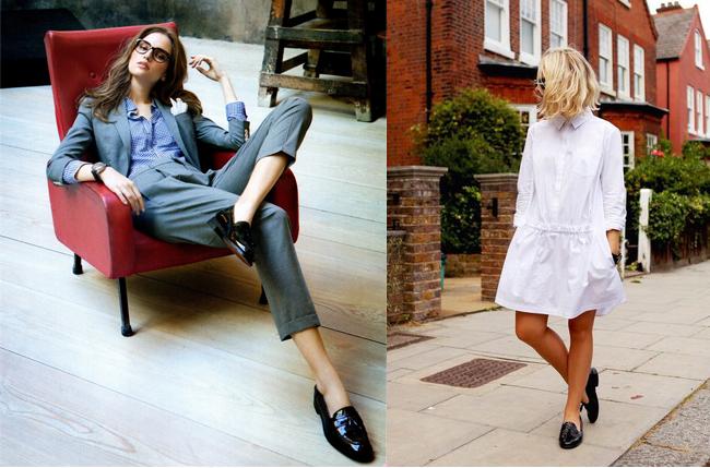 Лоферы — обувь сегодняшнего дня. С чем их носить и сочетать?