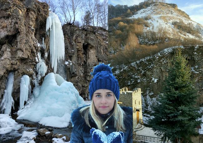 Медовые водопады зимой – отдыхаем в Кисловодске
