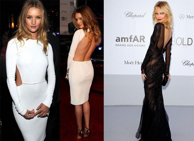 4dd42de30ef Как носить платье с открытой спиной - Eleganty - сайт об элегантности