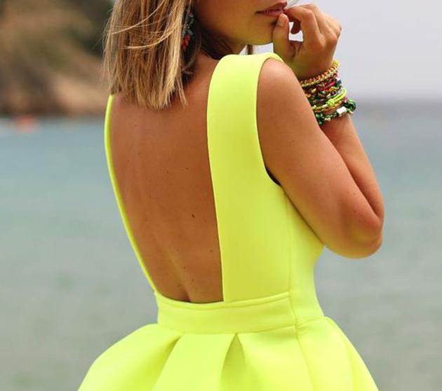 c065d36370d Как носить платье с открытой спиной - Eleganty - сайт об элегантности